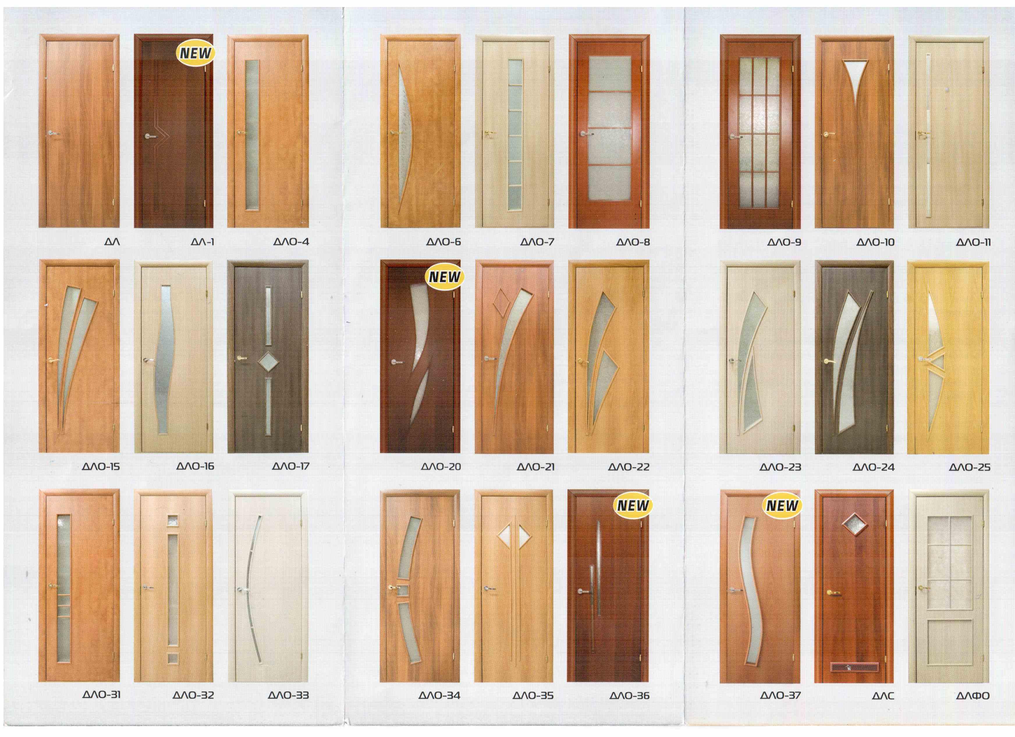 Межкомнатные двери каталог фото